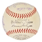 1953 St Louis Cardinals Autographed Team Signed Baseball (JSA COA)