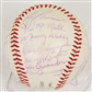 1964 Dodgers vs Phillies Autographed Team Signed Baseball (JSA COA)