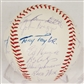 1965 Philadelphia Phillies Autographed Team Signed Baseball (JSA COA)