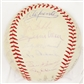 1967 San Francisco Giants Autographed Team Signed Baseball (JSA COA) 26 Signatures