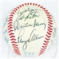 1972 California Angels Autographed Team Signed Baseball (JSA COA) 23 Signatures (C)