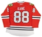 Patrick Kane Autographed Chicago Blackhawks Red Jersey (Frameworth)