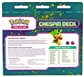 Pokemon XY Kalos Starter Deck - Chespin