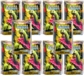 Pokemon HeartGold & SoulSilver Theme Deck - Growth Clash (Lot of 10)