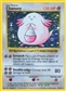 Pokemon Base Set 1 Single Chansey 3/102 - MODERATE PLAY (MP)