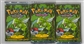 Pokemon 1st Editionn Jungle Booster Pack - Three Scyther Art booster Packs