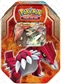 2015 Pokemon Legends of Hoenn Tin - Groudon-EX (Presell)