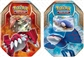 2015 Pokemon Legends of Hoenn Collector's Tin - Set of 2 (Kygore-EX, Groudon-EX) (Presell)