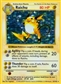 Pokemon Base Set 1 Single Raichu - Slightly Played (SP)