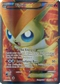 Pokemon BW Plasma Storm Single Victini EX 131 FULL ART - SLIGHT PLAY (SP)