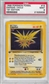 Pokemon Fossil 1st Edition Single Zapdos 15/62 - PSA 9 - *21625638*