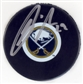 Jason Pominville Autographed Buffalo Sabres Hockey Puck