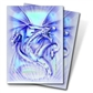 Ultra Pro Blue Diamond Dragon Standard Deck Protectors 50 Count Pack - Regular Price $4.99 !!!
