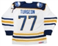 Pierre Turgeon Autographed Buffalo Sabres Throwback White CCM Jersey