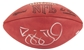 Reggie Bush Autographed San Francisco 49ers Official NFL Wilson Football (GTSM)