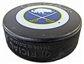 Rene Robert Autographed Buffalo Sabres Throwback Hockey Puck