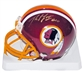 Robert Griffin III Autographed Washington Redskins Mini Helmet (Panini & NFL)