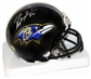 Ray Lewis Autographed Baltimore Ravens Mini Football Helmet