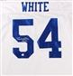 Randy White Autographed Dallas Cowboys White Jersey (GAI COA)