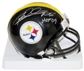 Rod Woodson Autographed Pittsburgh Steelers Mini Helmet