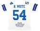 "Randy White Autographed Dallas Cowboys White Jersey w/""HOF94"" (Leaf Authentics)"