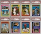 1975 Topps Baseball Complete Set With 8 PSA Graded Cards (EX-MT+)