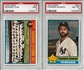 1976 Topps Baseball Complete Set With 2 PSA Graded Cards (NM)