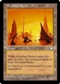 Magic the Gathering Weatherlight Single Scorched Ruins - SLIGHT PLAY (SP)
