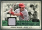 2008 Upper Deck SP Legendary Cuts Legendary Memorabilia Dark Green Parallel #BE Johnny Bench /5