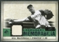 2008 Upper Deck SP Legendary Cuts Legendary Memorabilia Dark Green #BM Bill Mazeroski /9