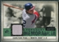 2008 Upper Deck SP Legendary Cuts Legendary Memorabilia Dark Green Parallel #CF2 Carlton Fisk /72