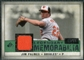2008 Upper Deck SP Legendary Cuts Legendary Memorabilia Dark Green Parallel #JP Jim Palmer /22