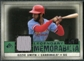 2008 Upper Deck SP Legendary Cuts Legendary Memorabilia Dark Green Parallel #OS2 Ozzie Smith /3