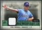 2008 Upper Deck SP Legendary Cuts Legendary Memorabilia Dark Green Parallel #PN Phil Niekro /35
