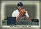 2008 Upper Deck SP Legendary Cuts Legendary Memorabilia Gray Parallel #GI Kirk Gibson /5