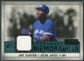 2008 Upper Deck SP Legendary Cuts Legendary Memorabilia Green Parallel #JC Joe Carter /99