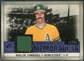 2008 Upper Deck SP Legendary Cuts Legendary Memorabilia Violet Parallel #RF Rollie Fingers /25