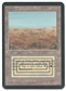Magic the Gathering Alpha Single Scrubland - SLIGHT PLAY (SP)