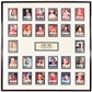 1997 Skybox Star Trek TOS1 Autographed 26 Card Framed Display Inc. 8 Deceased Signatures