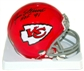 Jan Stenerud Autographed Kansas City Chiefs Mini Helmet