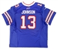 Stevie Johnson Autographed Buffalo Bills Authentic On Field Jersey (Buffalo Bills COA)