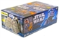 Star Wars Clone Wars Dog Tags 24-Pack Box (2010 Topps)