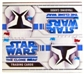Star Wars Clone Wars 24-Pack Retail Box (2008 Topps)