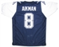 Troy Aikman Autographed Dallas Cowboys Double Star Jersey (JSA COA)