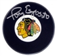 Tony Esposito Autographed Chicago Blackhawks Hockey Puck (UDA)