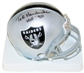 Ted Hendricks Autographed Oakland Raiders Mini Helmet
