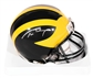 Tom Brady Autographed University of Michigan Wolverines Mini Helmet (Mounted Memories)