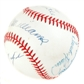 Triple Crown Autographed Baseball w/ Williams, Mantle, Robinson, and Yaz