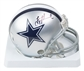 Troy Aikman Autographed Dallas Cowboys Mini Helmet (Leaf Authentics)