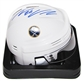 Thomas Vanek Autographed Buffalo Sabres White Mini Hockey Helmet